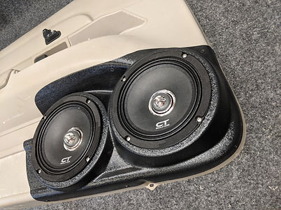 1998-2012 Crown Vic Dual speaker pods 2.