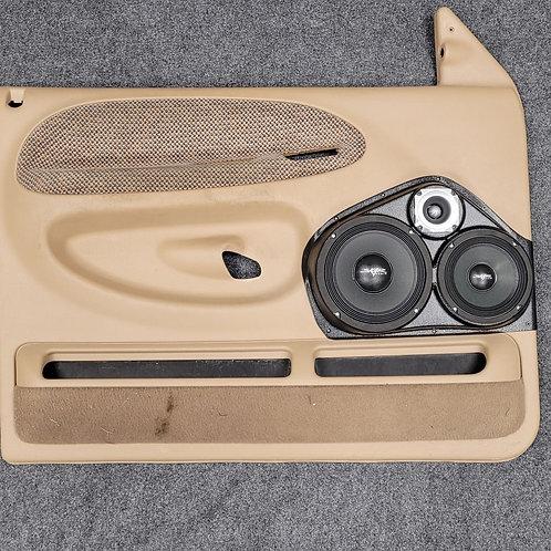 99-01 Dodge Ram Front Door Speaker Pod 8-6-3