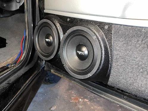 """Front Door Speaker Pods for Dual 6.5"""" 95-99 GMFST MK2"""