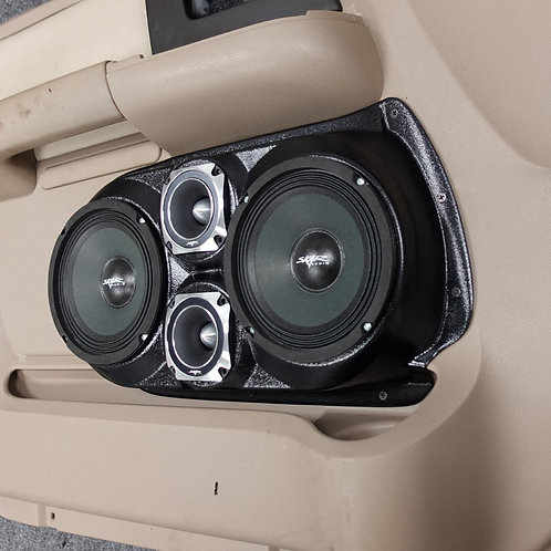 "Front Door Dual 6.5"" and dual 3.5"" Speaker Pods 03-06 Expedition"
