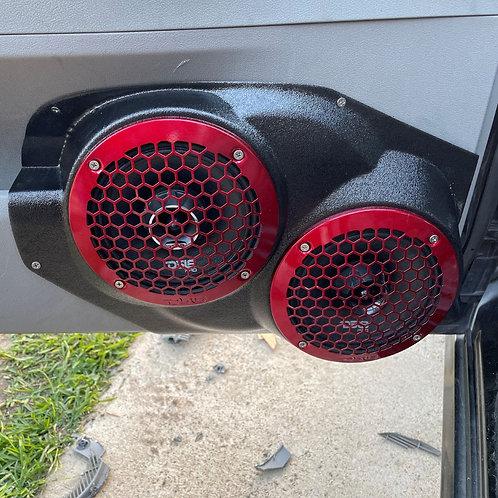 """Dual 6.5"""" Front Door Speaker Pods 05-07 Charger"""