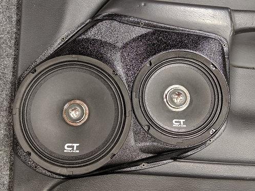 """Front Door 8"""" Speaker Pods for 02-05 RAM Pickup"""