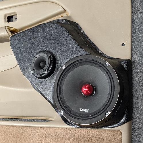"00-06 GM Tahoe Silverado Front Speaker Pods for 8"""