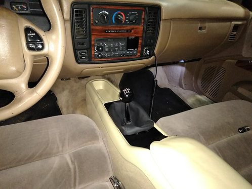 Center console shifter cover for Caprice and Impala SS