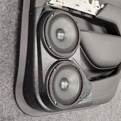 2015-2020 chevrolet colorado rear door speaker pods dual 6 stereo upgrade system accessory