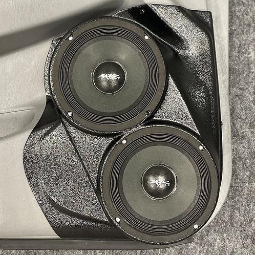 """2005 - 2015 Toyota Tacoma Speaker Pods, Dual 6.5"""" Custom Speaker Pods, Custom Truck Stereo"""