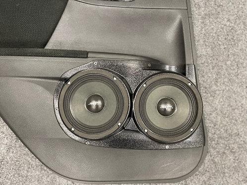 "2013-2017 Honda Accord Speaker Pods, Dual 6.5"" Speaker Pods"