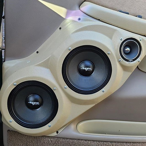 Tahoe silverado sierra yukon front door speaker pods 6 6 3