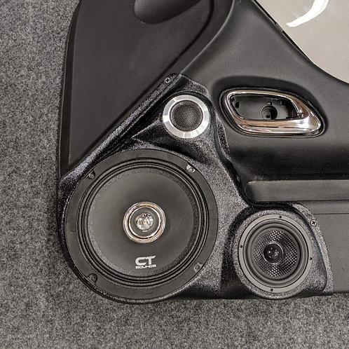 "6.5"" 3-way Front Door Speaker Pods 10-15 Camaro"