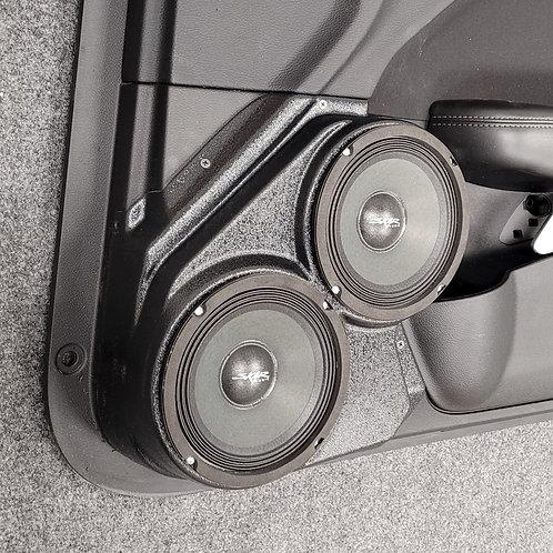 """15-20 Dodge Challenger Front Door Speaker Pod Dual 6.5"""""""