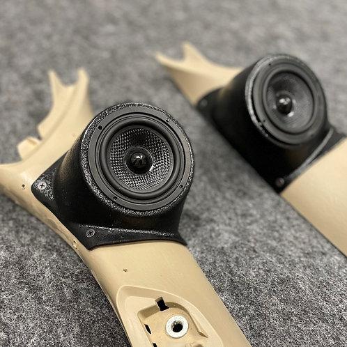 "3.5""  A-pillar Speaker Pods For 08-15 Toyota Tacoma"