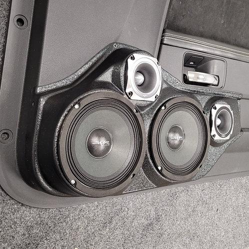 08-14 Dodge Challenger Front Door Speaker Pod 6-6-3-3