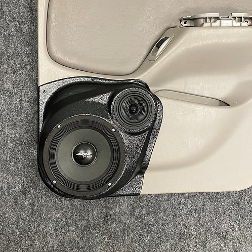 """Rear Door 6.5"""" and 3.5"""" Speaker Pod 00-04 Toyota Tacoma"""