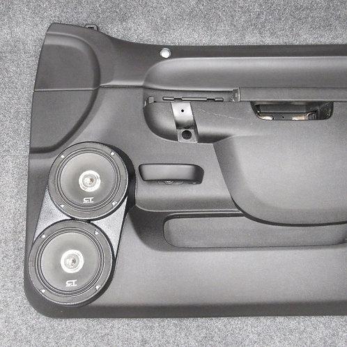10-13 GMFST LT Front Flangeless Speaker Pods Dual 6.5