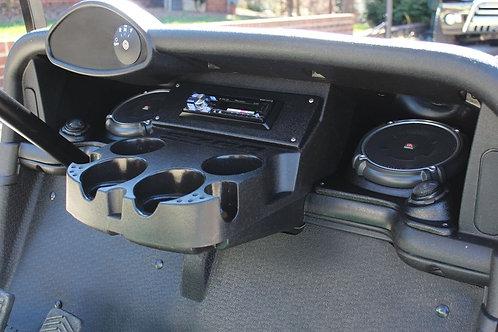 speaker pod dash kit ezgo rxv 2 five stereo installation accessory