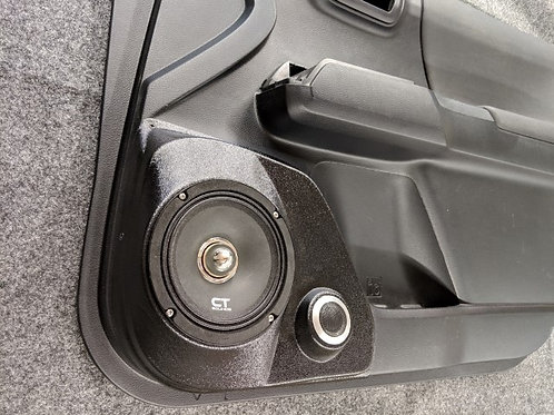 "Toyota tacoma speaker pods for 6.5"" front door"