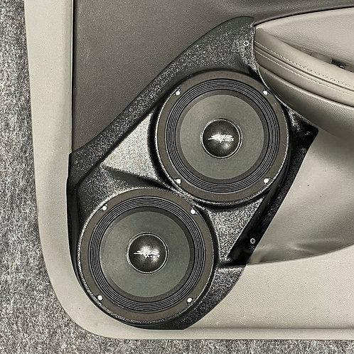 """Front Door Dual 6.5"""" Speaker Pods 14-20 Impala"""
