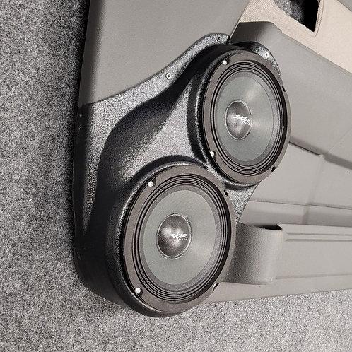 """Dual 6.5"""" Front Door Speaker Pods 04-11 Colorado Canyon"""