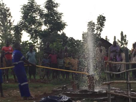 Water project underway!