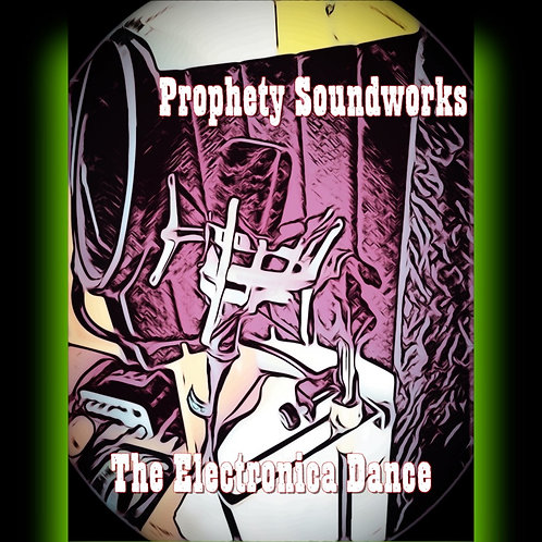 "Prophety Soundworks ""The Electronica Dance"" T-Shirt"