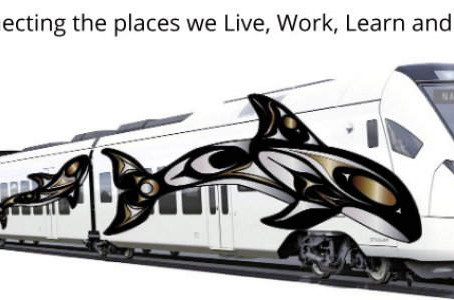 Darrell Thorne announced WINNER! First Nation's Vancouver Island Railway Art Contest