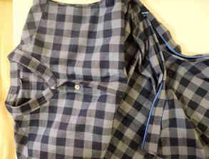 Woven Dress Shirt - Elongated Hemline with Side Zipper and Mandarin Collar.jpg