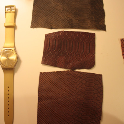 Snake Skin x Leather - Developed by FabriKite