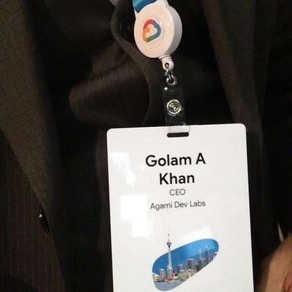 Agami Dev Labs @ Google Cloud Summit 2018