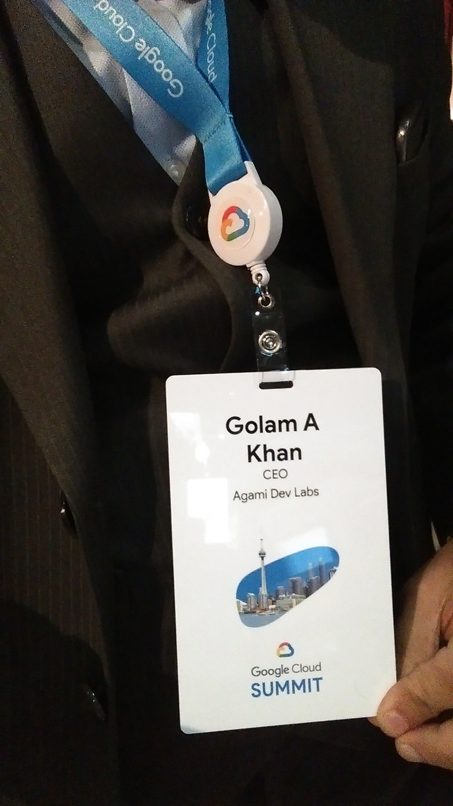 Agami Dev Labs @ Google Cloud Summit 2018