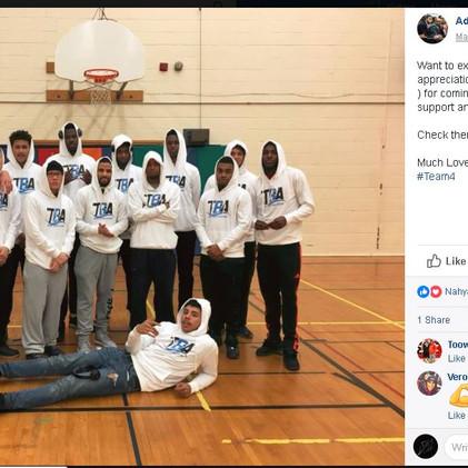 FabriKite Inc. sponsors Toronto Basketball Academy