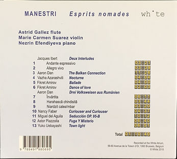 Premier CD. 4ième de couverture