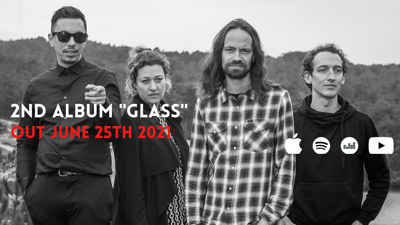 New album %22Glass%22 out Fri. Jun 25th.
