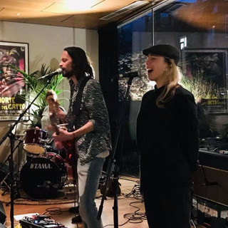 The Arthurs live @ KINO, Rotterdam (NL), April 18th 2019 (with actress and singer Kiki van Deursen)  Movie premiere Leto
