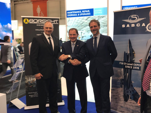 Borsight Inc. and SABCA Group Join Forces for Major US F-16 Maintenance Contract