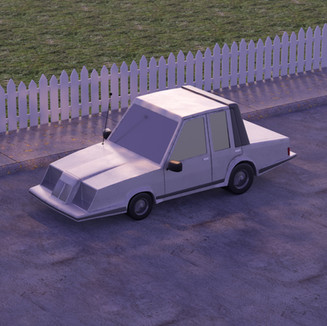 Cartoon Car
