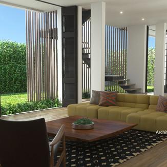 Architectural design by Amadis Cruz Inte