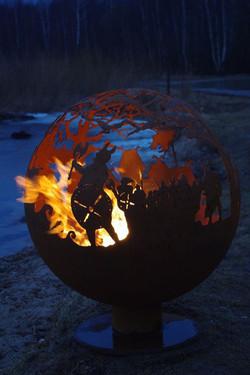 Viking firepit 5