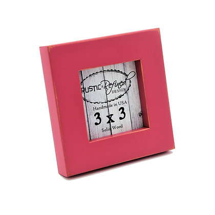 """3x3 1"""" Gallery Picture Frame - Hot Pink"""