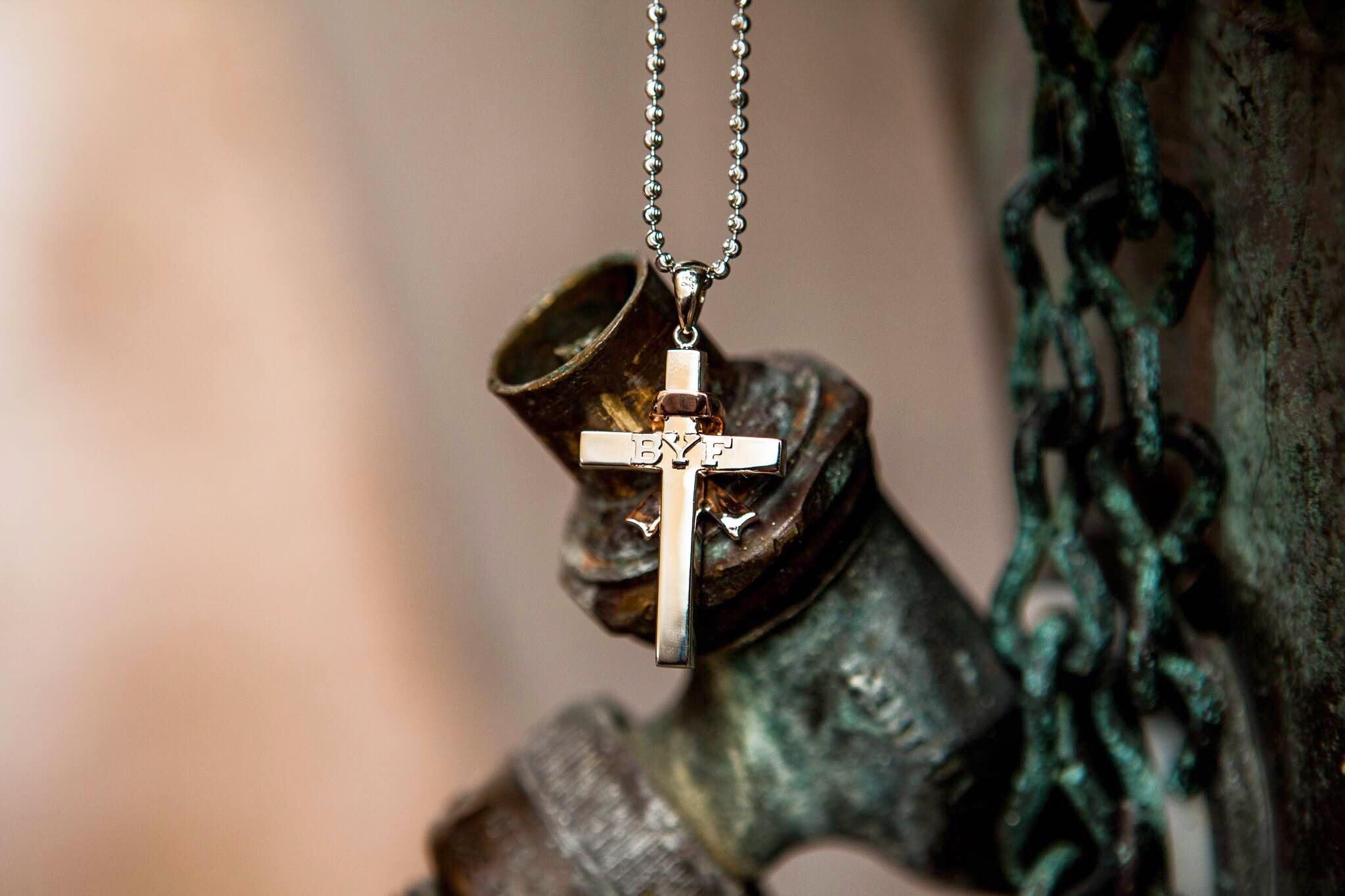 Back of cross