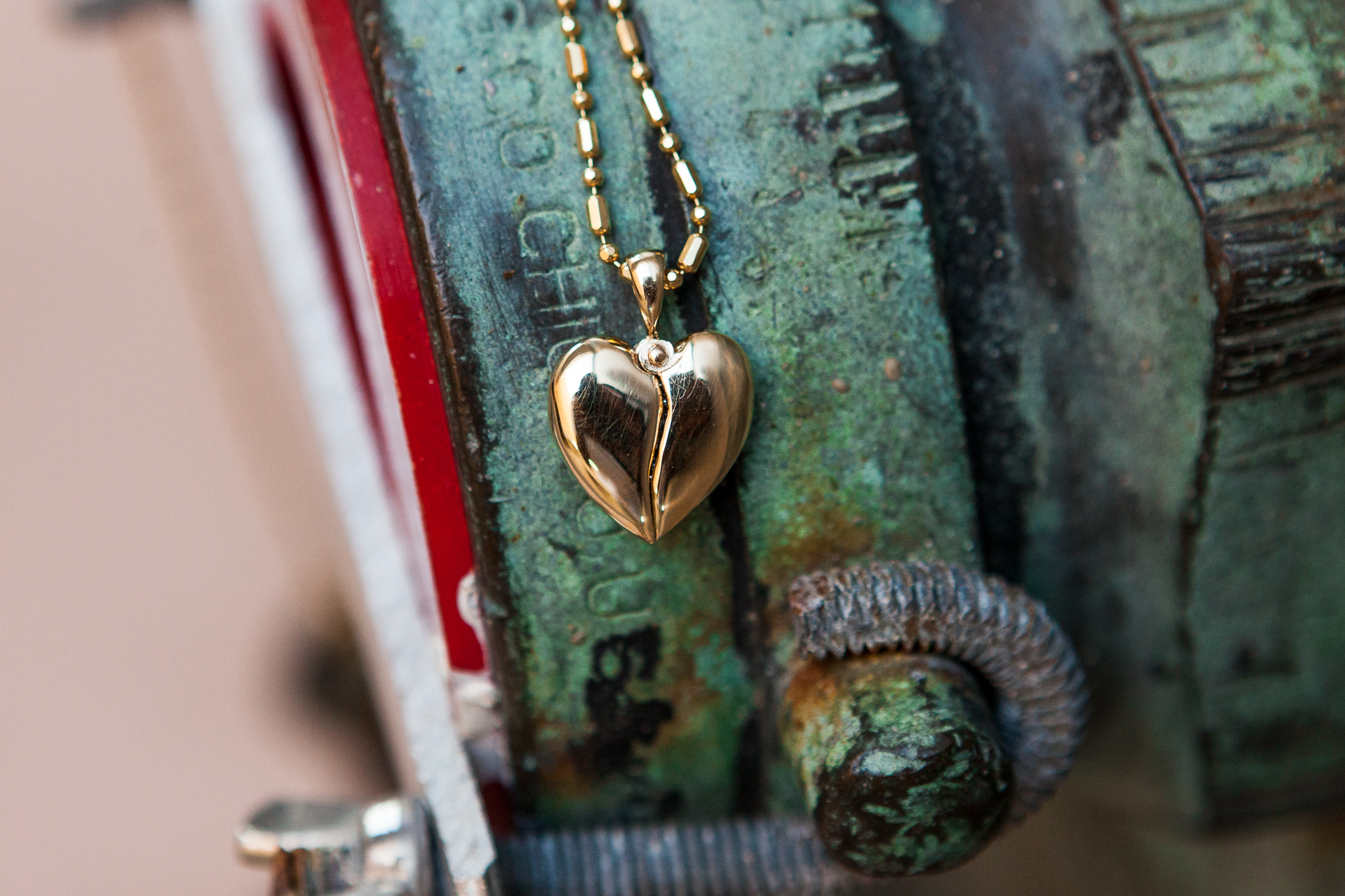 Open You Heart Pendant