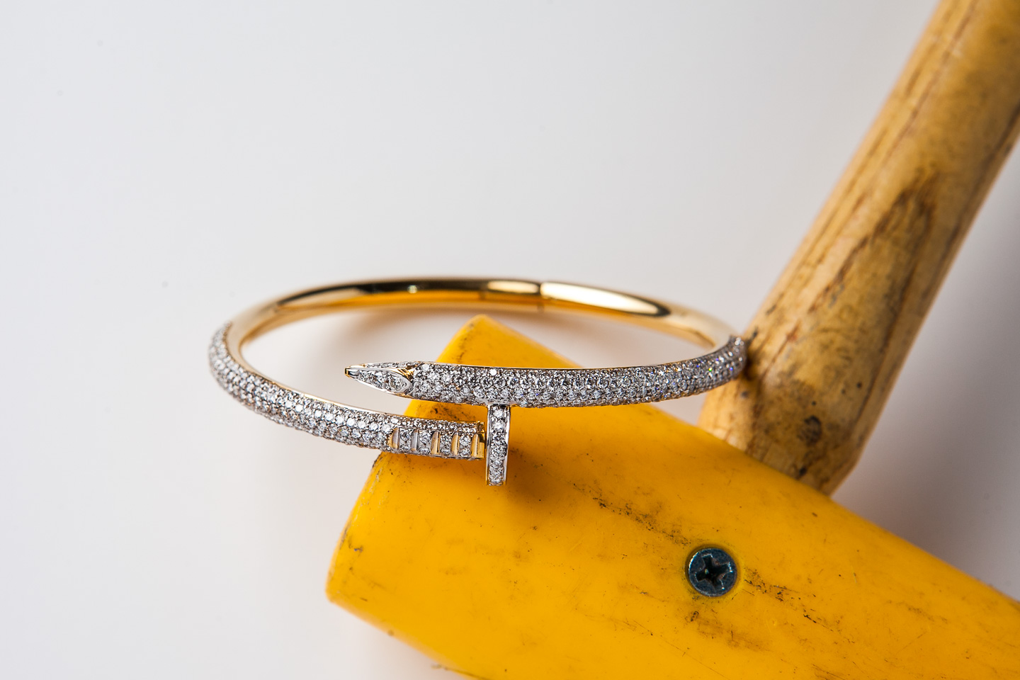 Diamond Nail Bangle