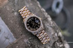 Bust-down Rolex