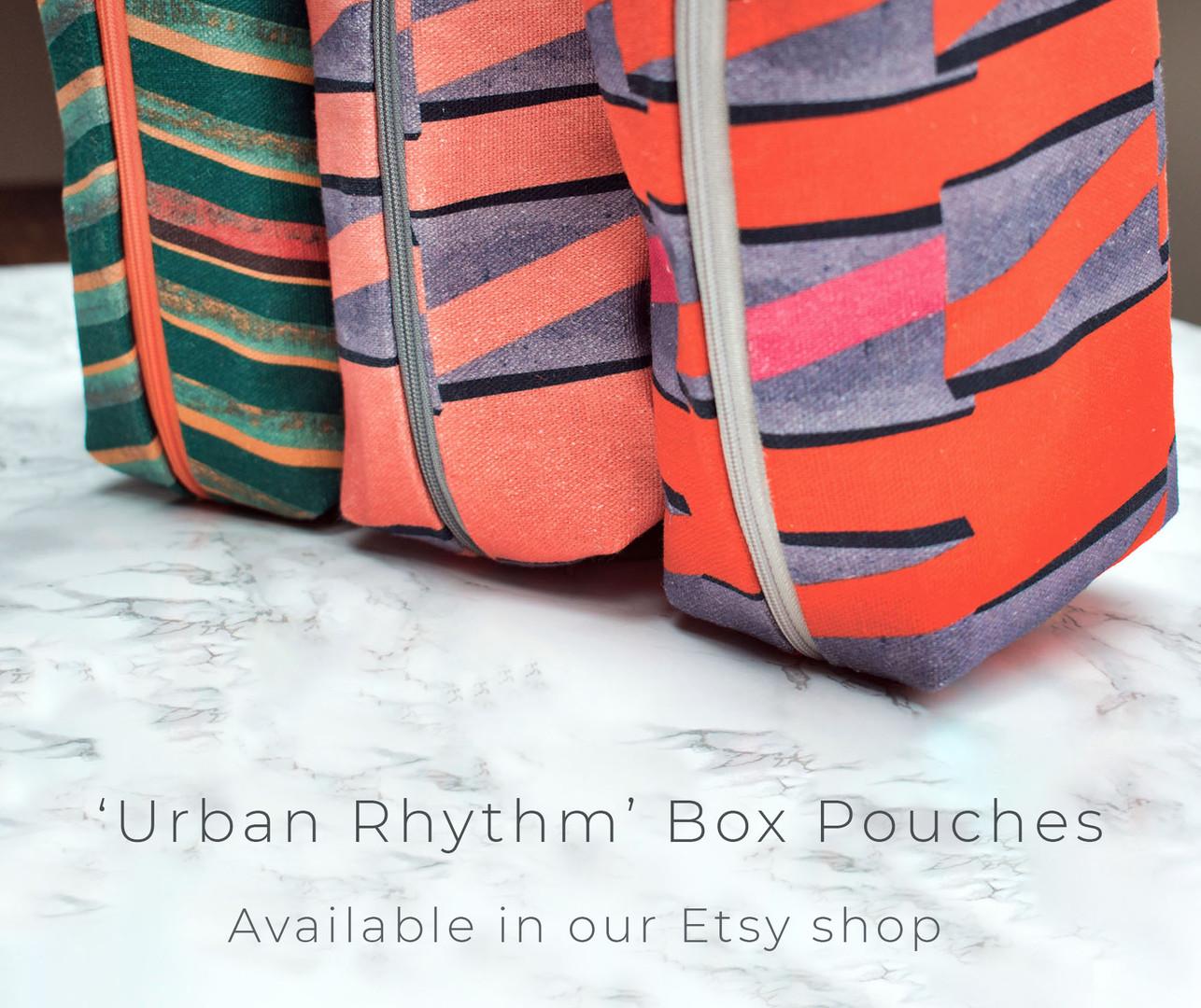 Urban Rhythm Box Pouches