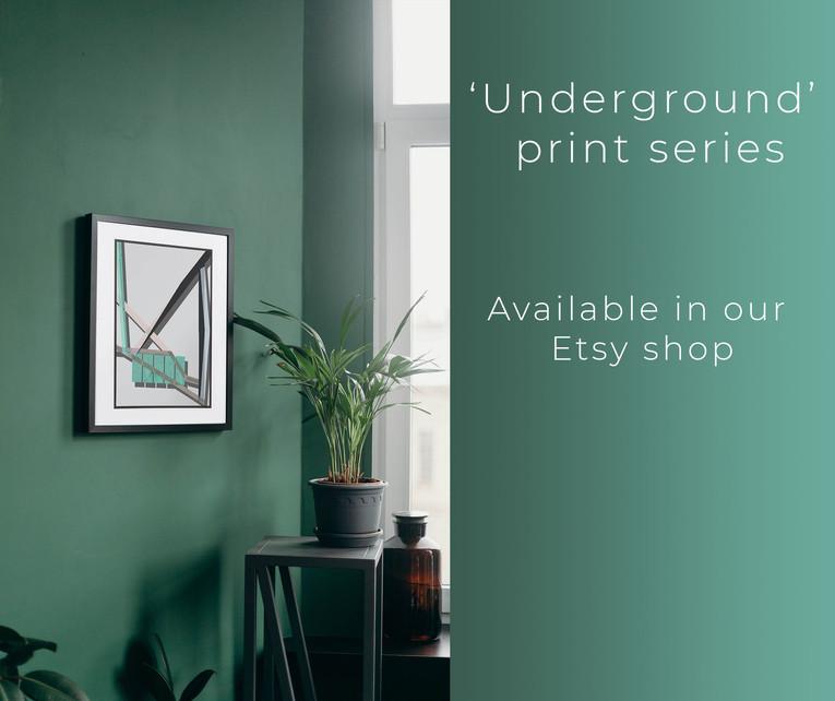 Undergoround No. 4 Print