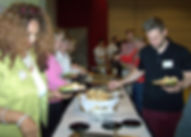 What's for lunch at Business Sucess Extravaganza?  This year it was a full lasagna buffet.
