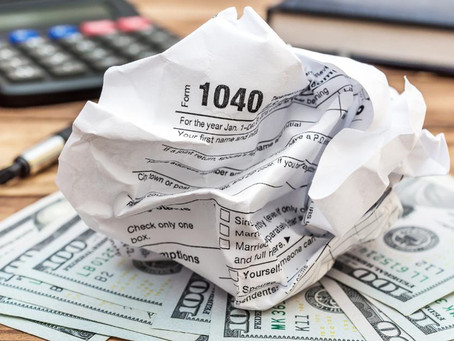 Early IRS Numbers Show Taxpayers Aren't Rushing To File Taxes In 2020