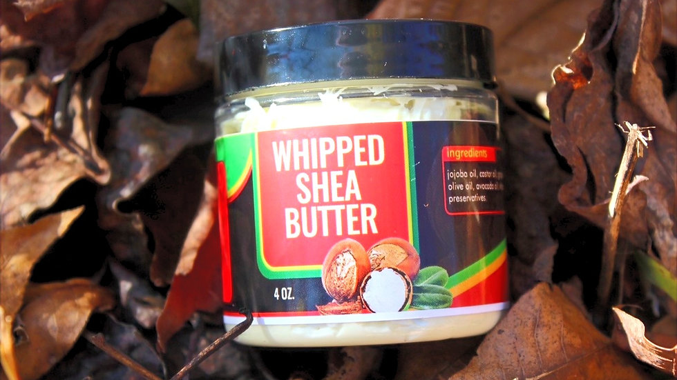 Double Whipped Shea Butter