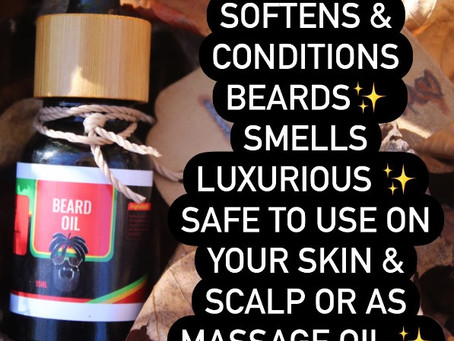 ***NEW*** BEARD OIL COLLECTION ♡