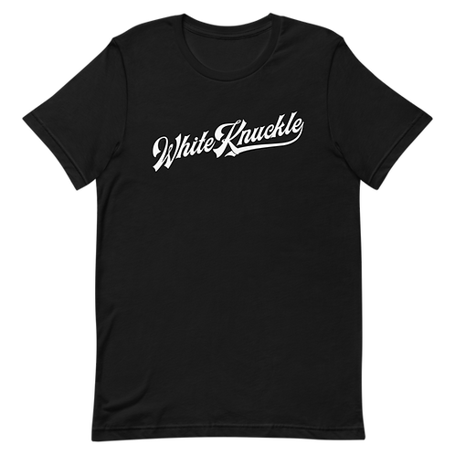 WHITE KNUCKLE NAME TEE