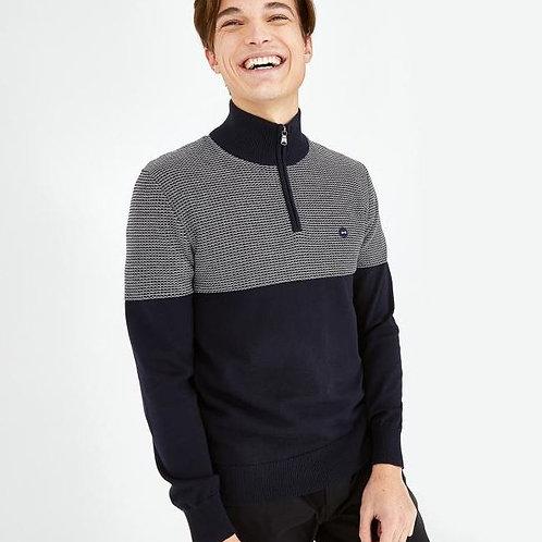 Eden Park Long sleeve navy blue knitwear